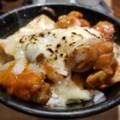 2018/03/23 夜 チーズダッカルビ丼@岡むら屋