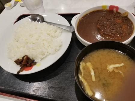 2018/03/26 夜 オリジナルハンバーグカレー@松屋
