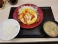2018/05/28 夜 オムチーズチキンカツ定食@かつや