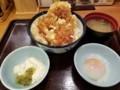 2018/05/31 夜 チーズチキン南蛮天丼@てんや