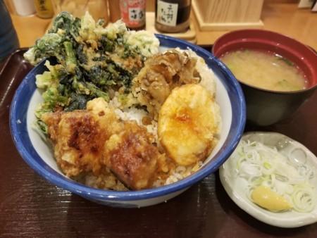 2018/06/07 夜 豚角煮天丼@天丼てんや