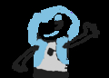 my o.c!it was all my imaganation to make this!my own o.c!name is Icy!LOL!do you like him?