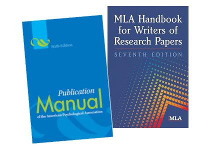 英語論文数字表記方法を詳細に説明しています(APA・MLAスタイル)。