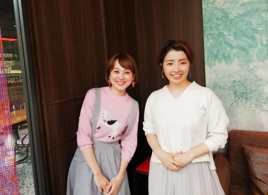 yurieさんと私の2ショット写真