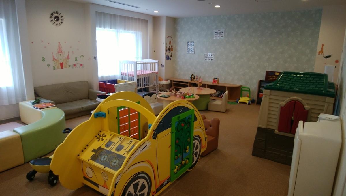 グリーンプラザ軽井沢のキッズルーム