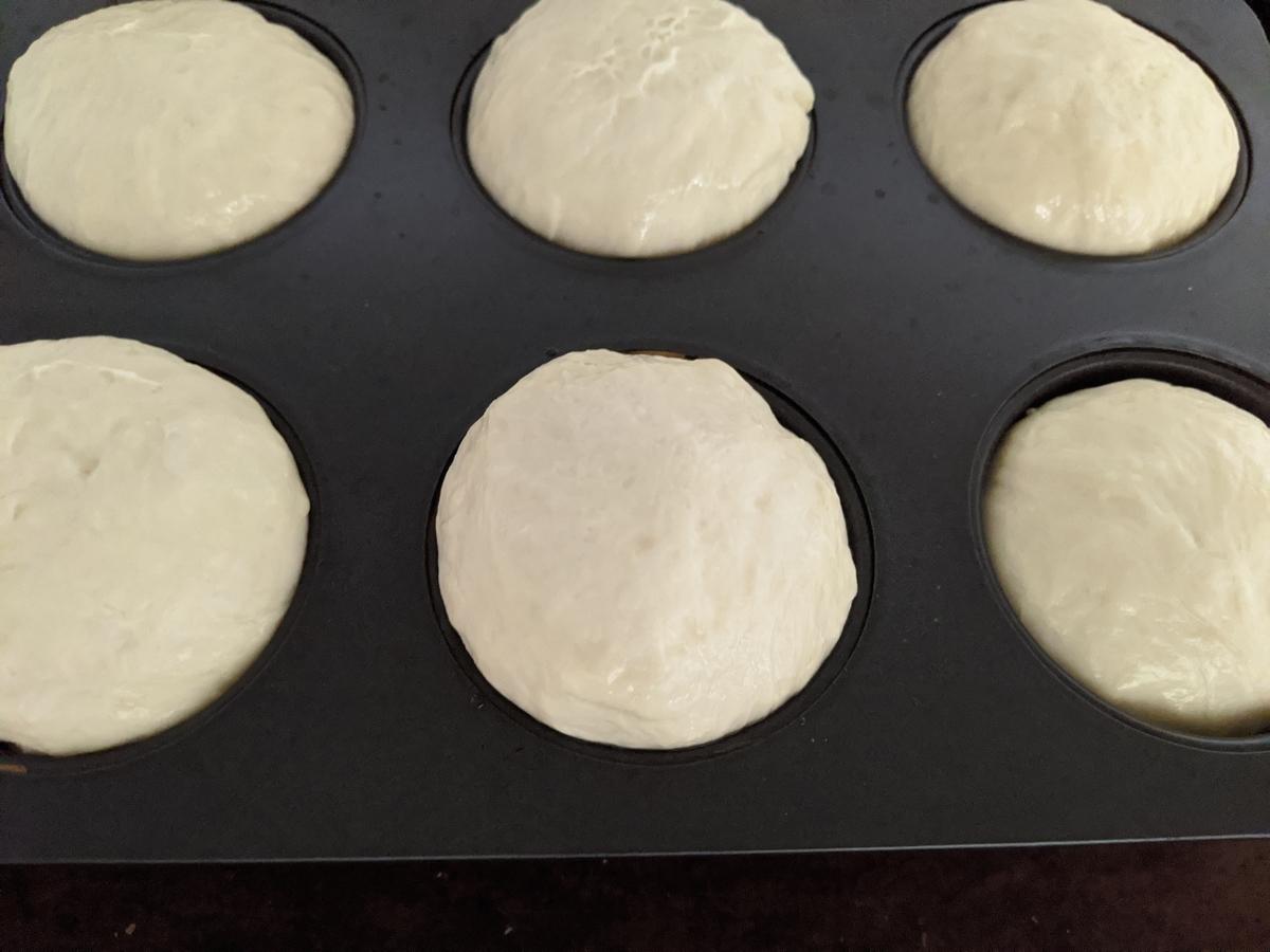 発酵させたパン生地