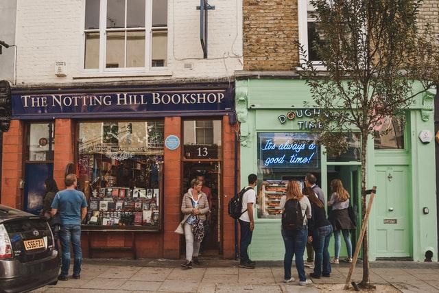 ノッティングヒルの恋人に出てくるトラベル・ブック・カンパニーのモデルになった書店