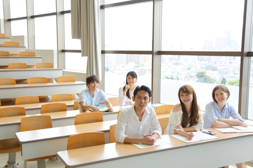 大学の授業風景