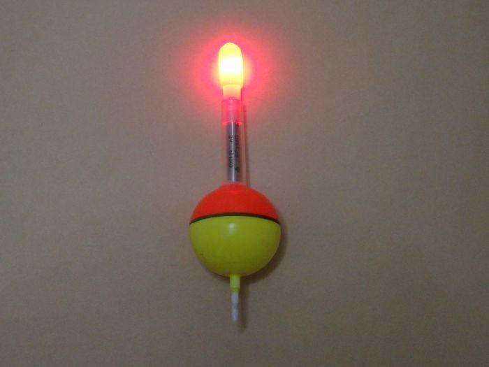 玉ウキで作った自作電気ウキ