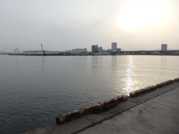 アブシンが釣れる堤防の写真