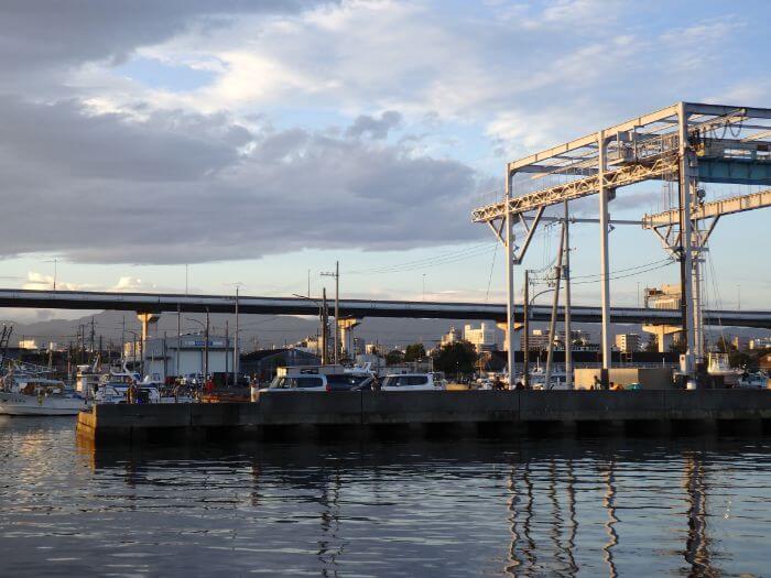 サビキ釣りがやりやすい漁港の写真