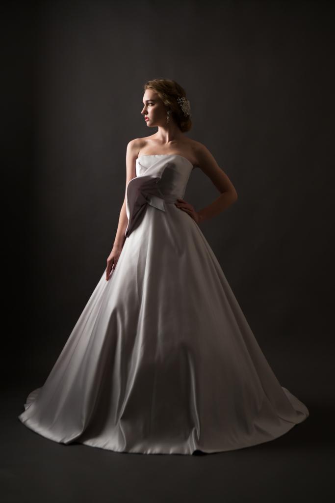 家族婚 ドレス Aライン