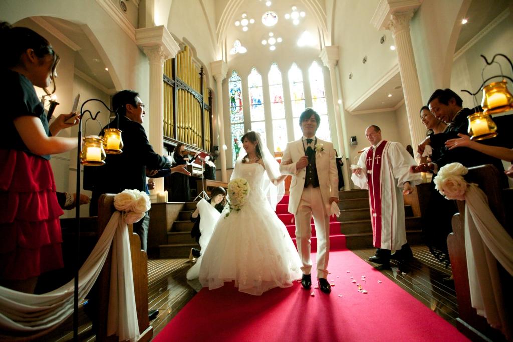 家族婚ブログ 挙式風景イメージ