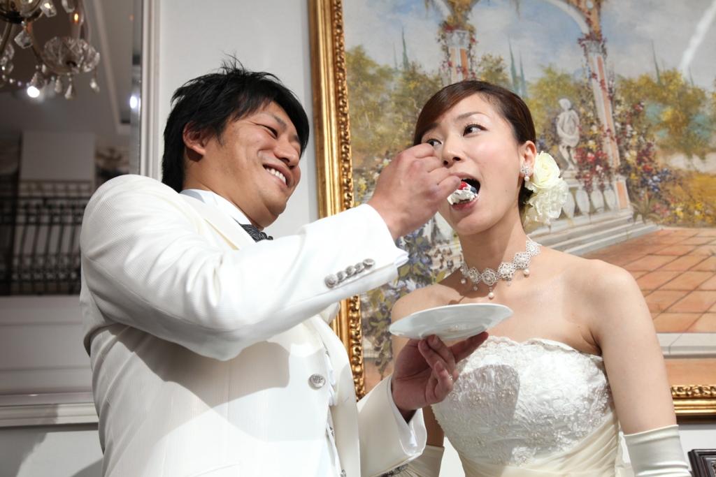 家族婚演出 ファーストバイト