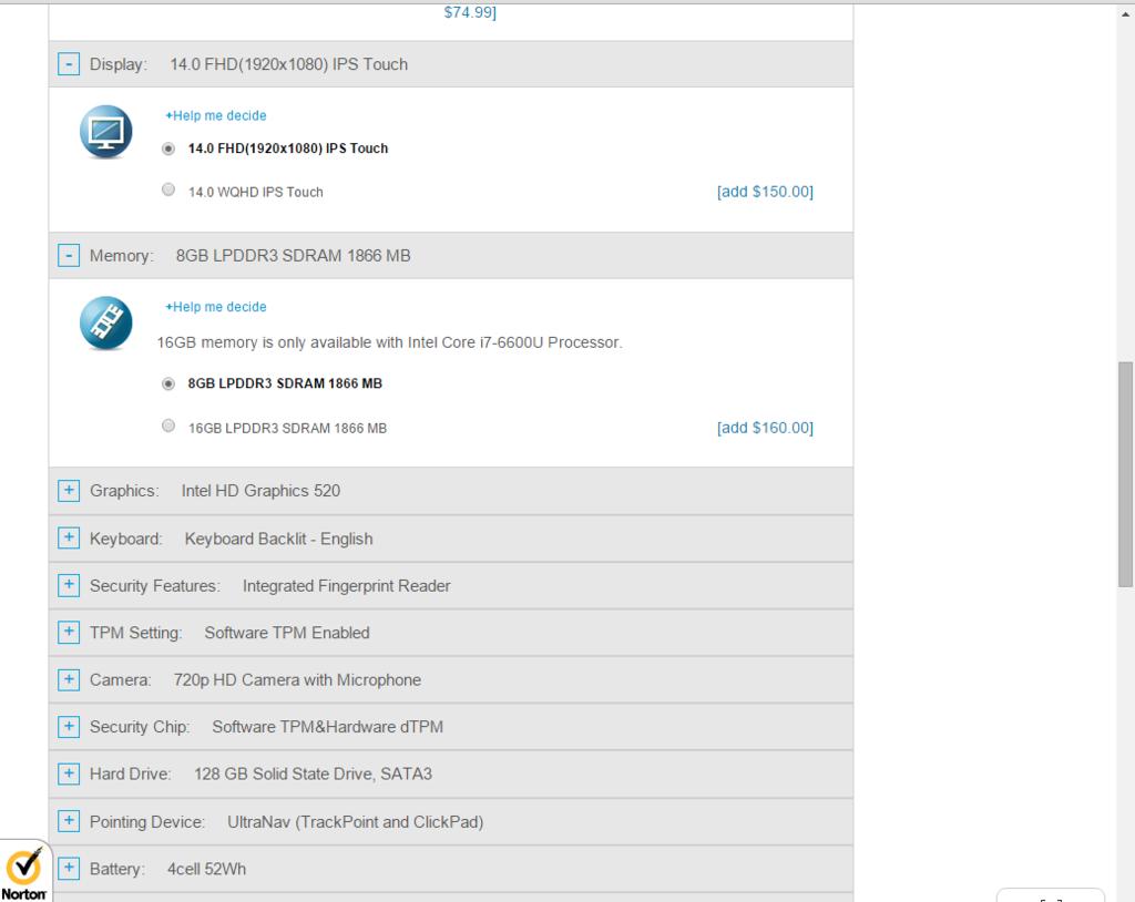 ThinkPad X1 Yogaアメリカモデルカスタマイズ