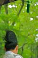 京都新聞写真コンテスト 新緑のもとで