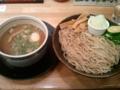 [つけ麺] 麺屋たか松 鶏魚介つけ麺味玉