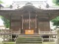 仏子・八坂神社拝殿