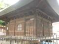 花頭窓、桟唐戸、粽柱(高倉寺観音堂)