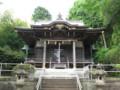 杉山神社(西八朔)拝殿