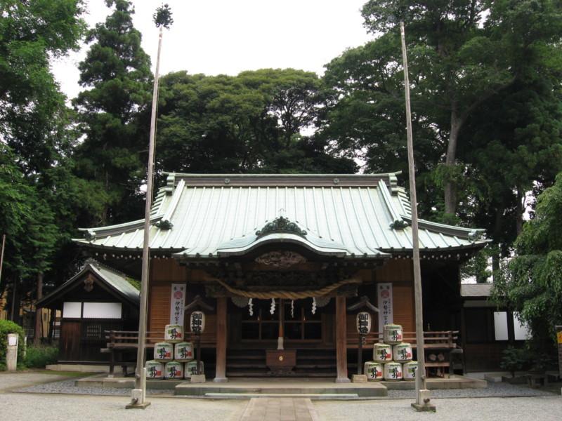 深見神社拝殿 深見神社拝殿 20090613  個別「深見神社拝殿」の写真、画像、動画