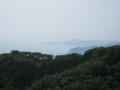 本宮神社付近から相模湾