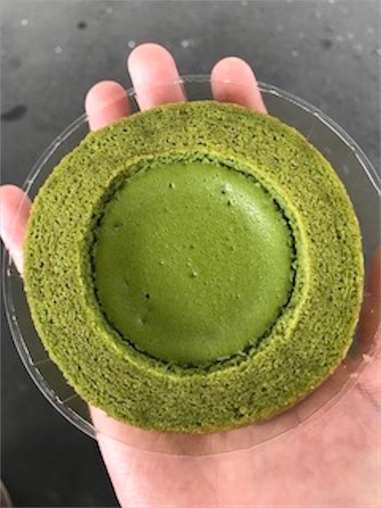 ファミリーマート 旨み抹茶チーズケーキバウム