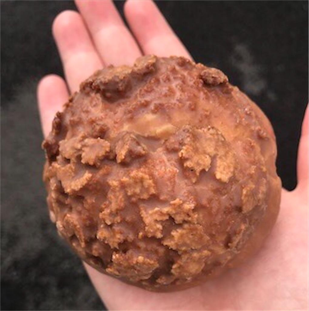 ザクっと食感のクッキーシュー