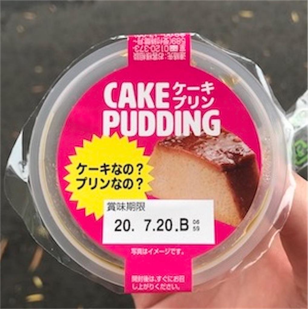CAKE PUDDING ケーキプリン