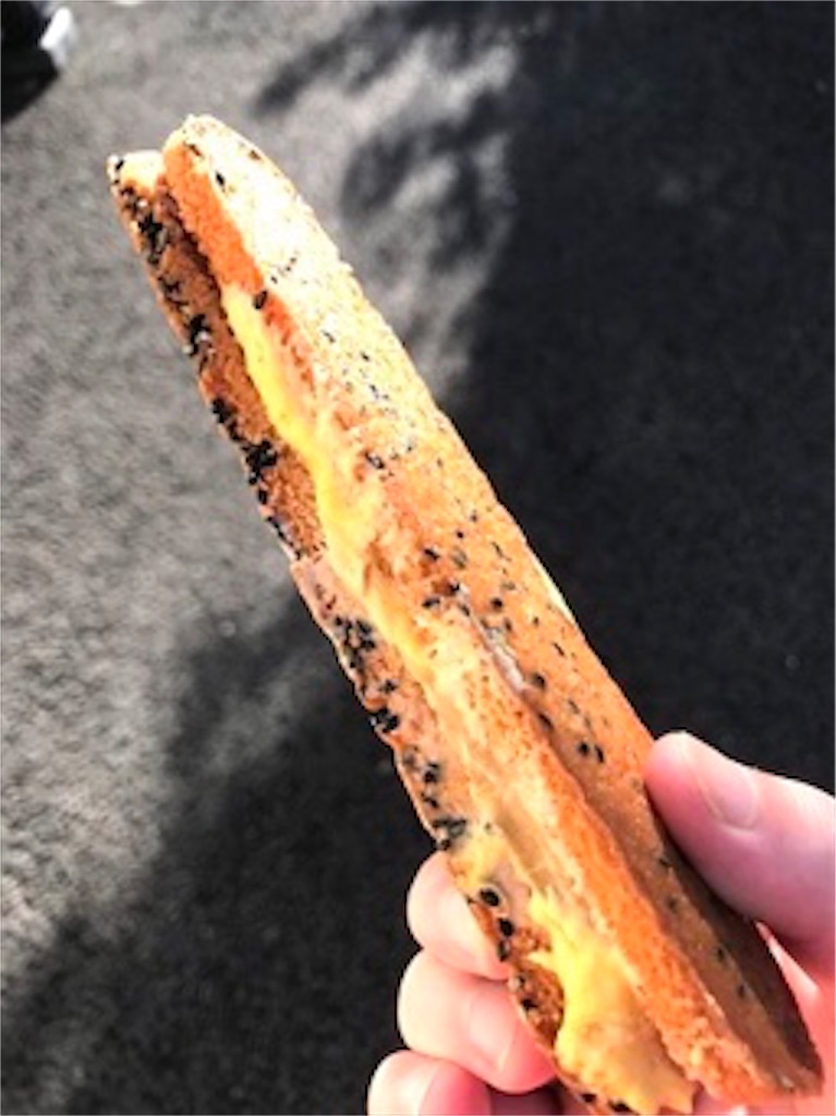 香ばしいクッキーのクリームサンド(安納芋)