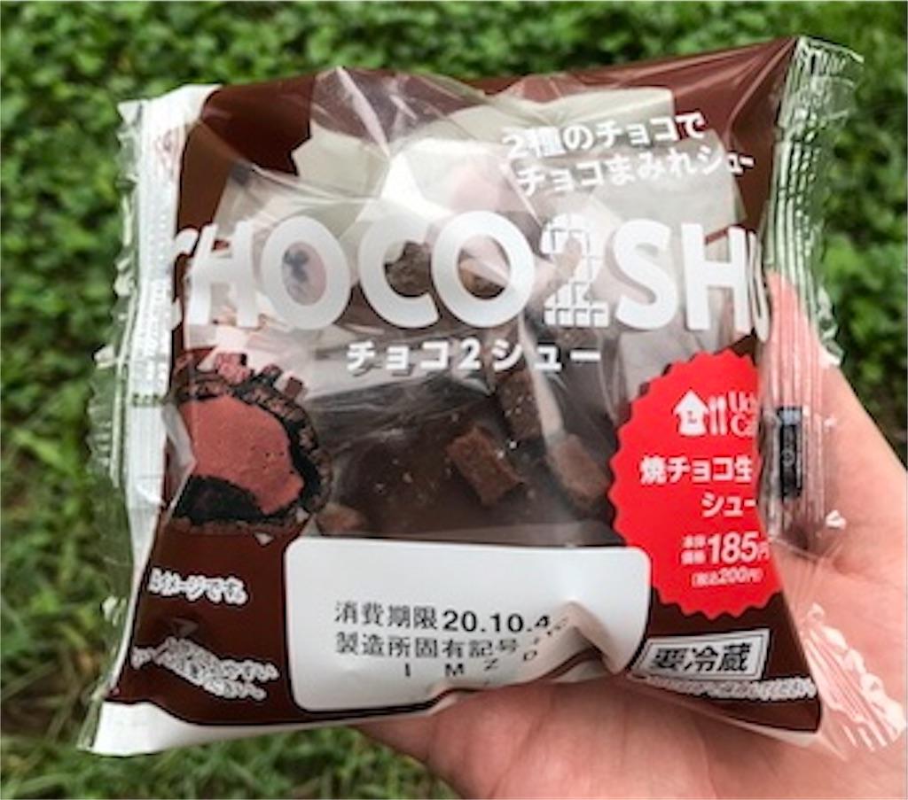 チョコ2シュー-焼チョコ生チョコシュー-