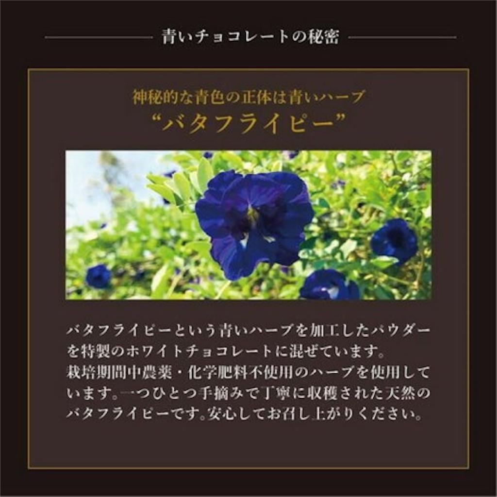 青いスイーツ CARRE・DE・BLUE カレドブルー