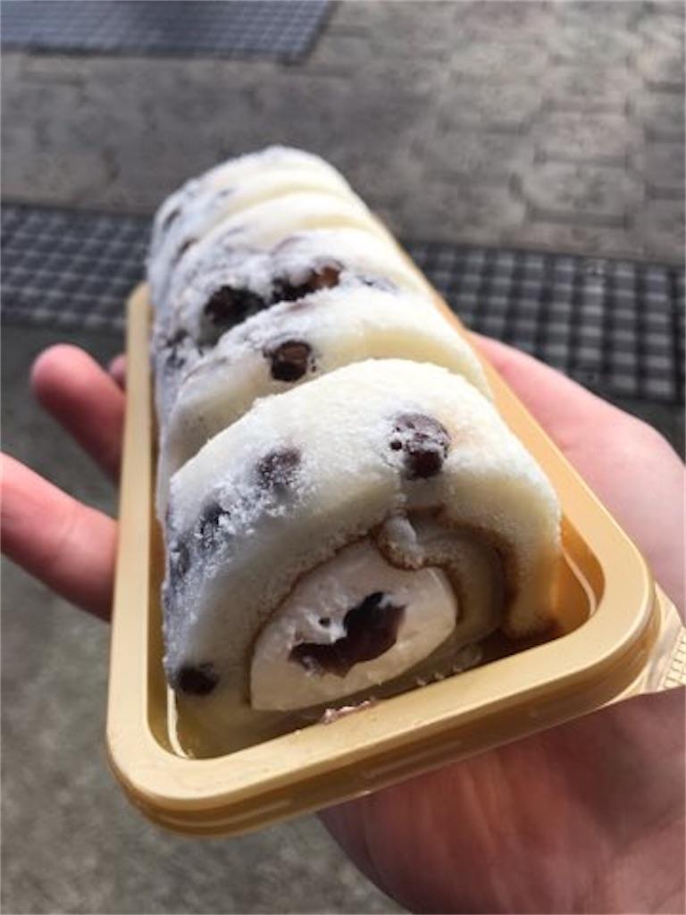 ローソン ウチカフェ 塩豆大福仕立てのもち食感ロール