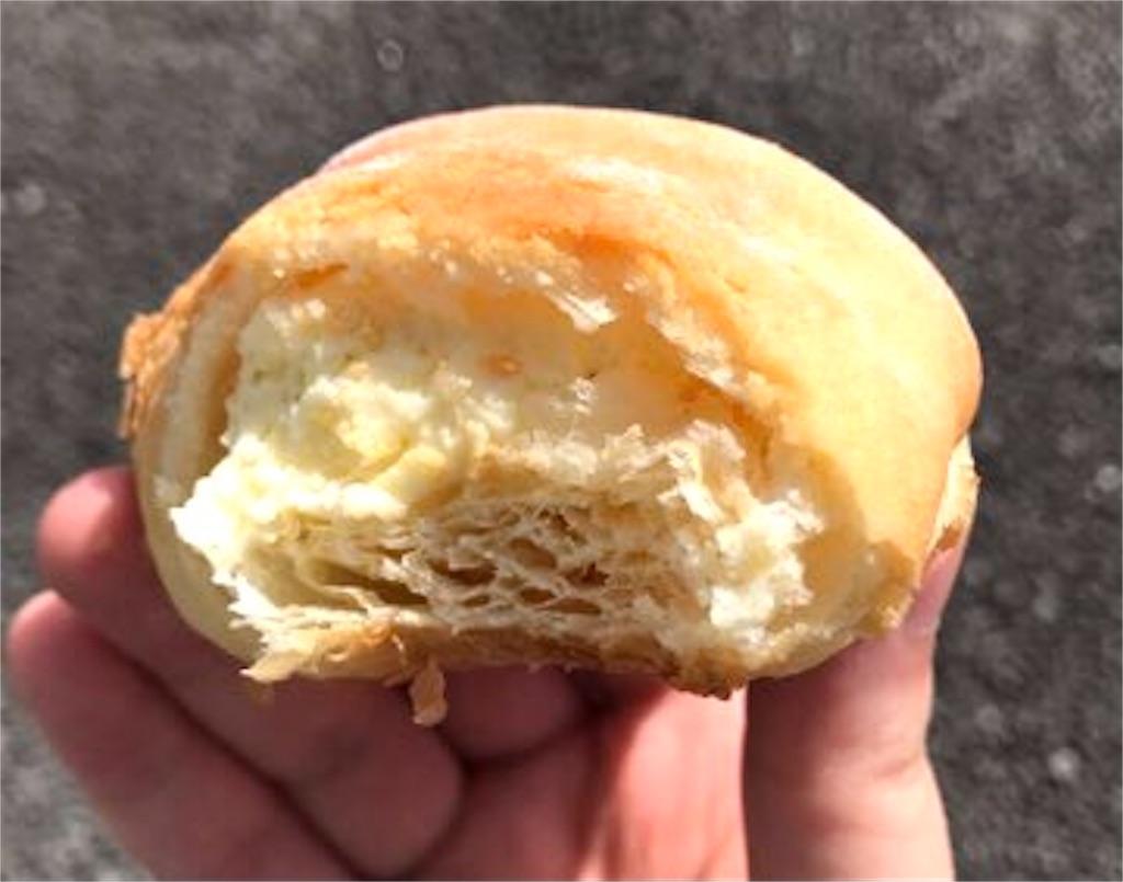 ファミリーマート 冷やして食べるクリームクロワッサン(カスタードホイップ)
