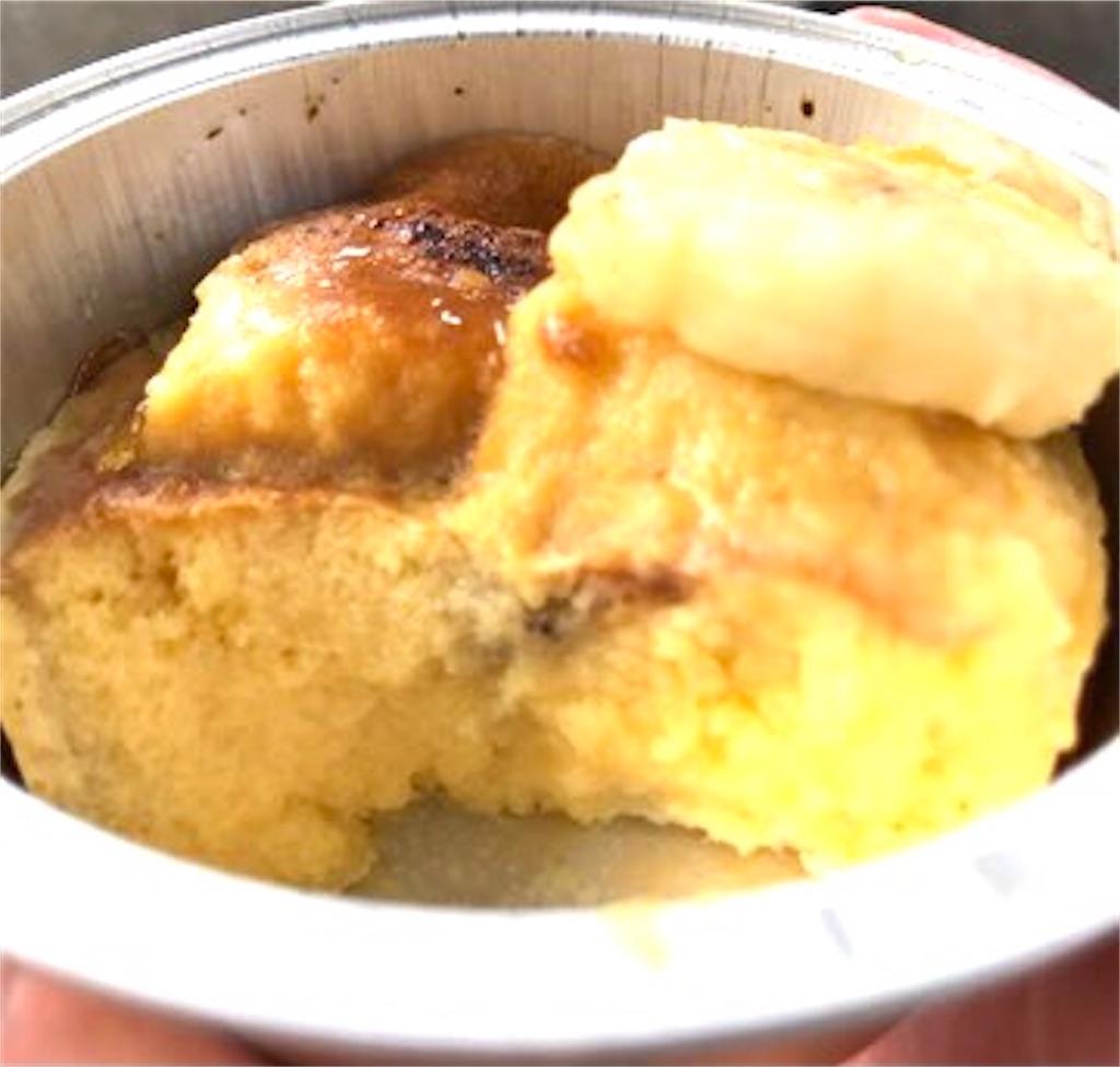 ファミリーマート 焦がしバナナプディングケーキ