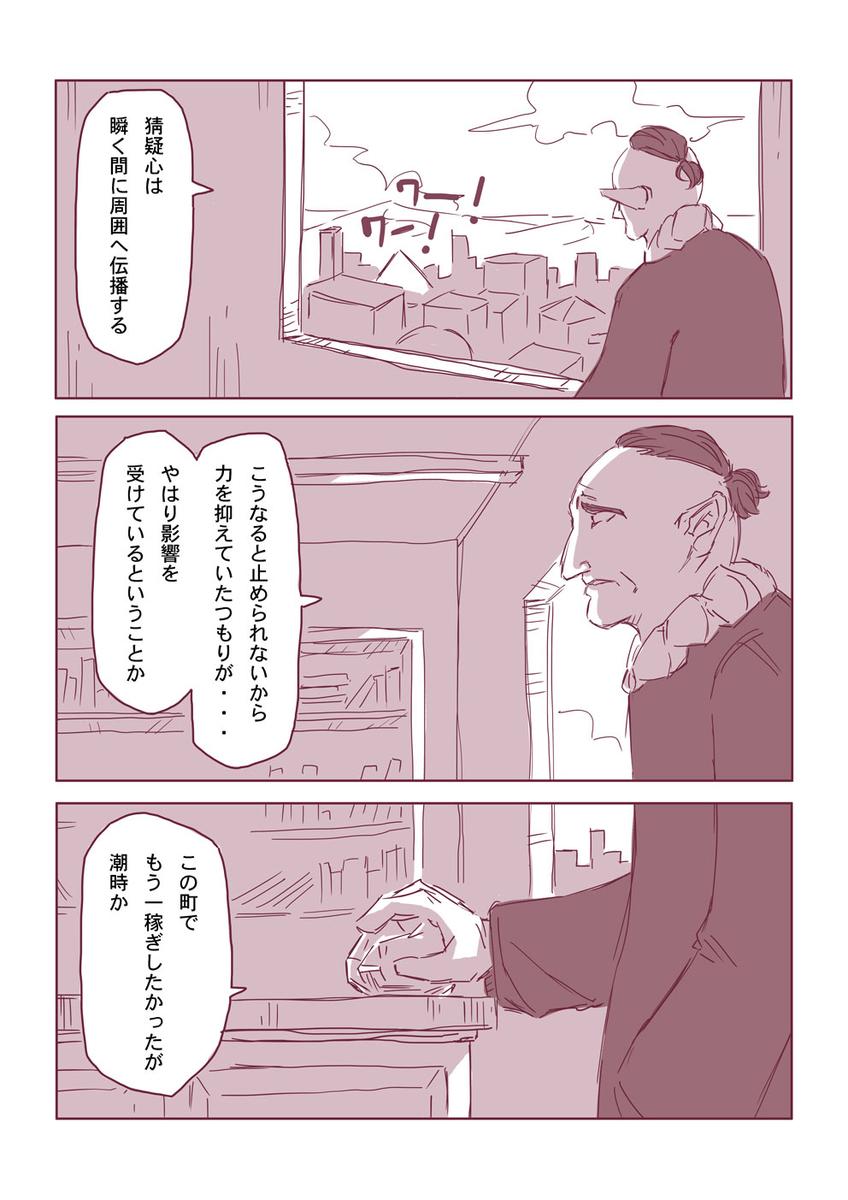 然る放浪者の夜話 #5 猜疑心(2-4)