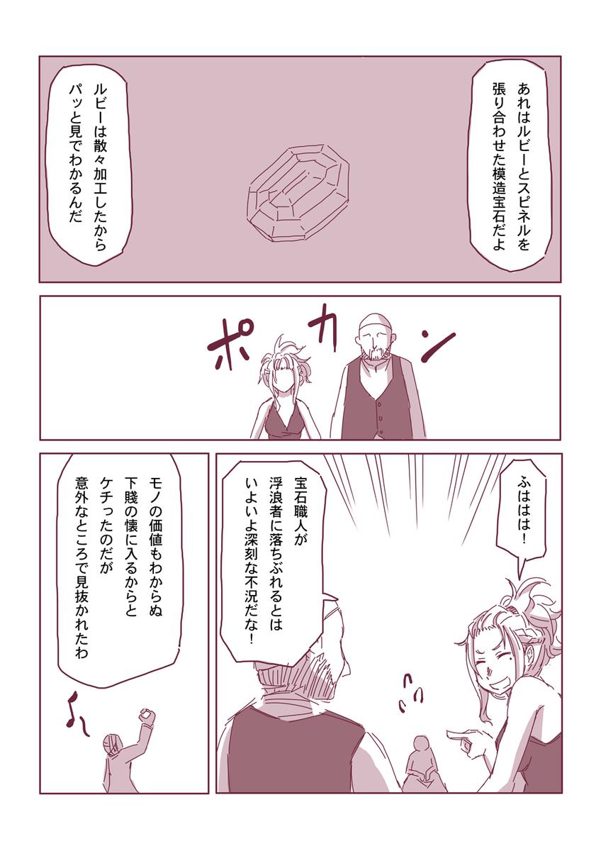 然る放浪者の夜話 #8 侮辱(1-6)