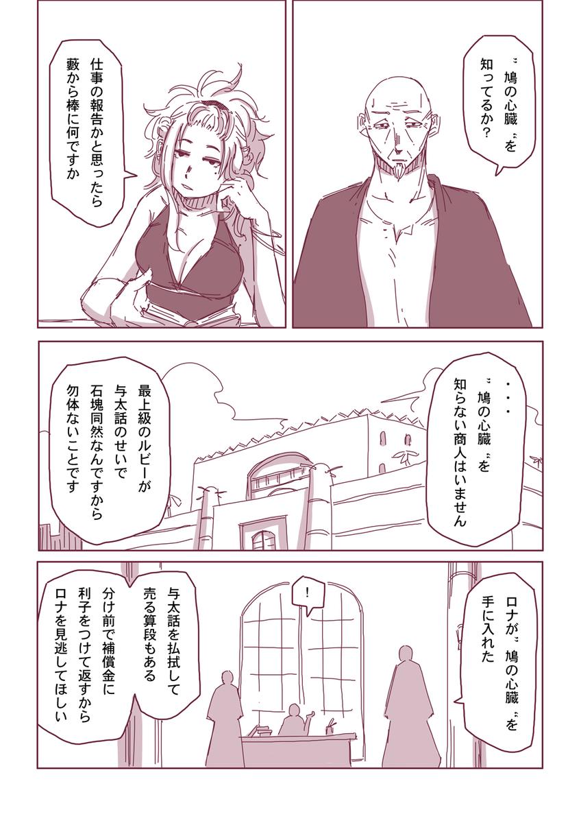 然る放浪者の夜話 #8 侮辱(2-1)