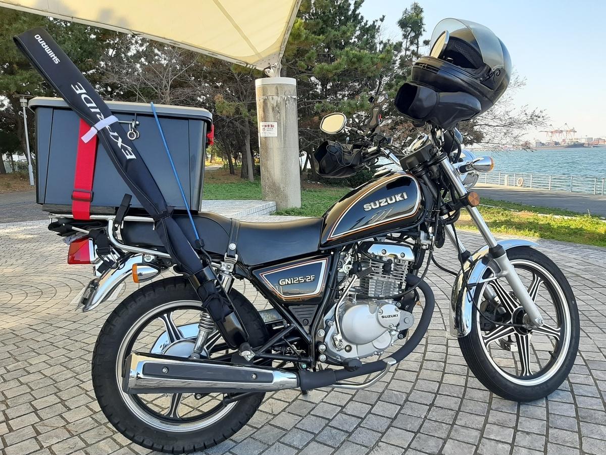 SUZUKI GN125 2F