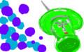 モディリアーニ風に自画像を描く
