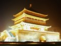 夜の西安鐘楼3