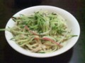 西安料理面(ジャージャー麺)