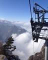 新しい華山西峰ロープウェイ