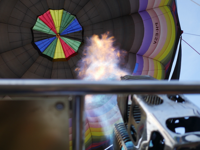 気球の中の様子
