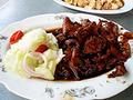 [Penang][Malaysia]新瓊安飯店の豚肉料理