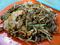 新華茶室の炒粿條