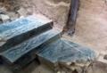 秦の始皇帝陵で「青い石段」=初の発掘、竜の模様も−中国