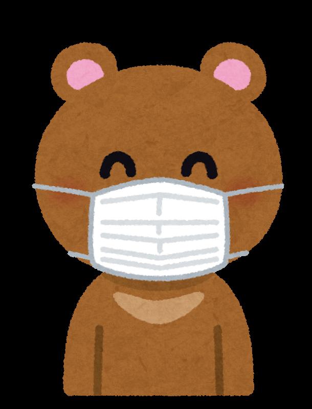 マスクしての外出