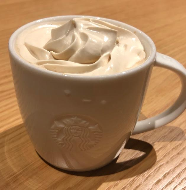 スタバコーヒー&クリームラテ