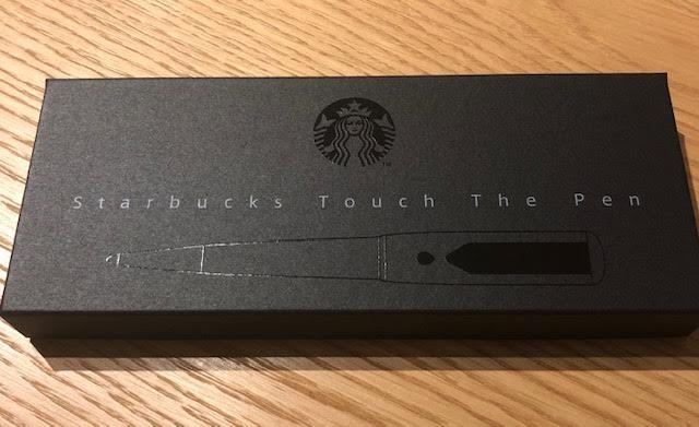 スターバックスタッチペン Starbucks Touch The pen 外箱